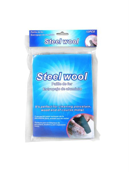 Steel Wool Set (Available in a pack of 24)