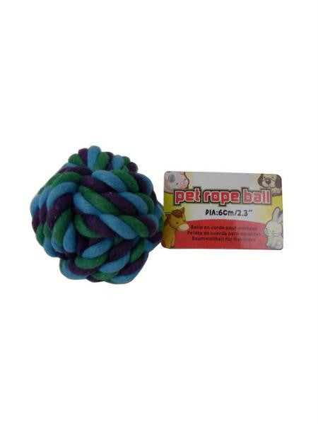 Dog Rope Ball (Available in a pack of 24)