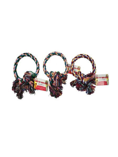 Pet Rope Ring Toy (Available in a pack of 36)