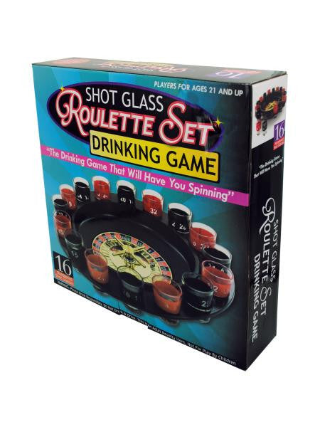Roulette Drinking Game (Available in a pack of 1)