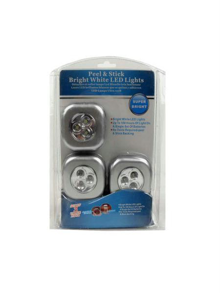 Peel and Stick LED Lights (Available in a pack of 4)