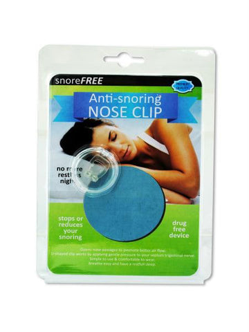 Anti Snoring Nose Clip (Available in a pack of 12)
