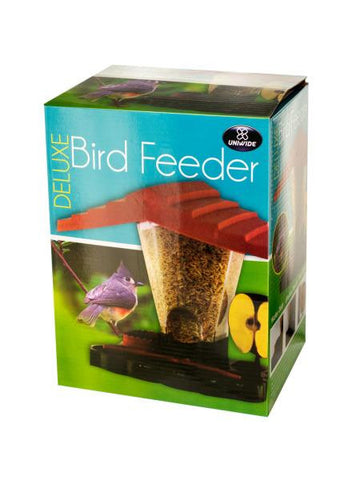 Deluxe Lifelike Bird Feeder (Available in a pack of 1)