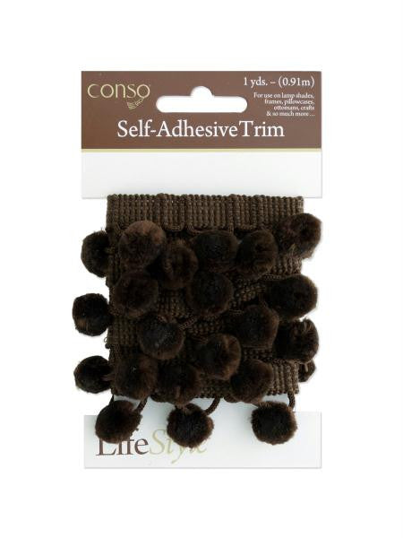 Brown Self Adhesive Decorative Trim (Available in a pack of 24)
