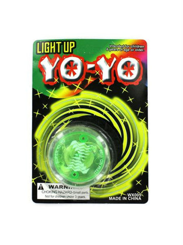 Light Up Yo-yo (Available in a pack of 24)