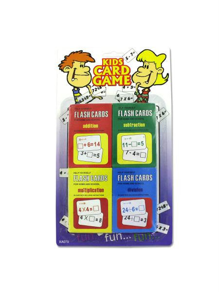 Children's Flash Card Set (Available in a pack of 24)