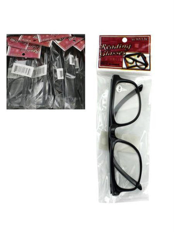 2.50-12pc reading glasses (Available in a pack of 1)
