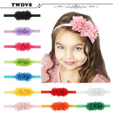 TWDVS Baby Headband Flower Headband Newborn Hair Bands Baby Bows For Christmas Gift Cheap Hair Acessorios Para Cabelo w--00