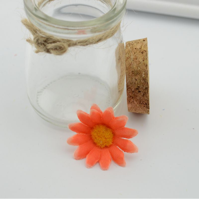 10pcs free shipping simulation silk flower plastic flower small daisies Flowers lawn Flowers Sale