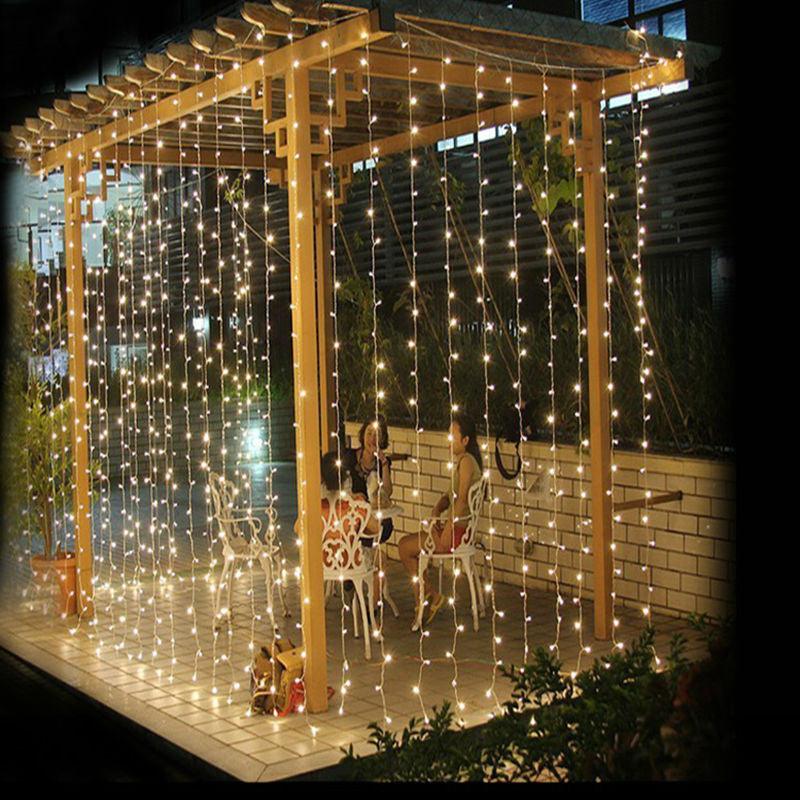 3M * 3M Fairy Lights 300 LED String Lights Garlands Lighting for Outdoor Home Garden Wedding Christmas Party Holiday Celebration