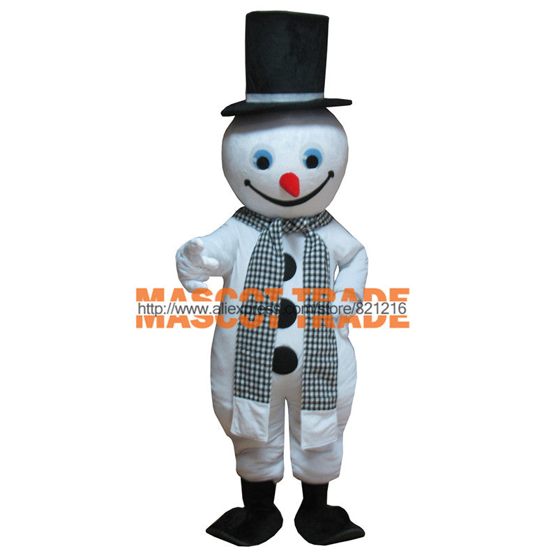 Christmas costumes cosplay halloween christmas snowman mascot adult costume christmas white thanksgiving theme