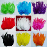 10-15cm 4-6 inch rooster feather DIY Christmas day decorate feather 50 root sell