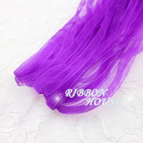 (10 meters/lot) 1/4''(6mm) Organza Ribbon wholesale gift wrapping Christmas ribbons