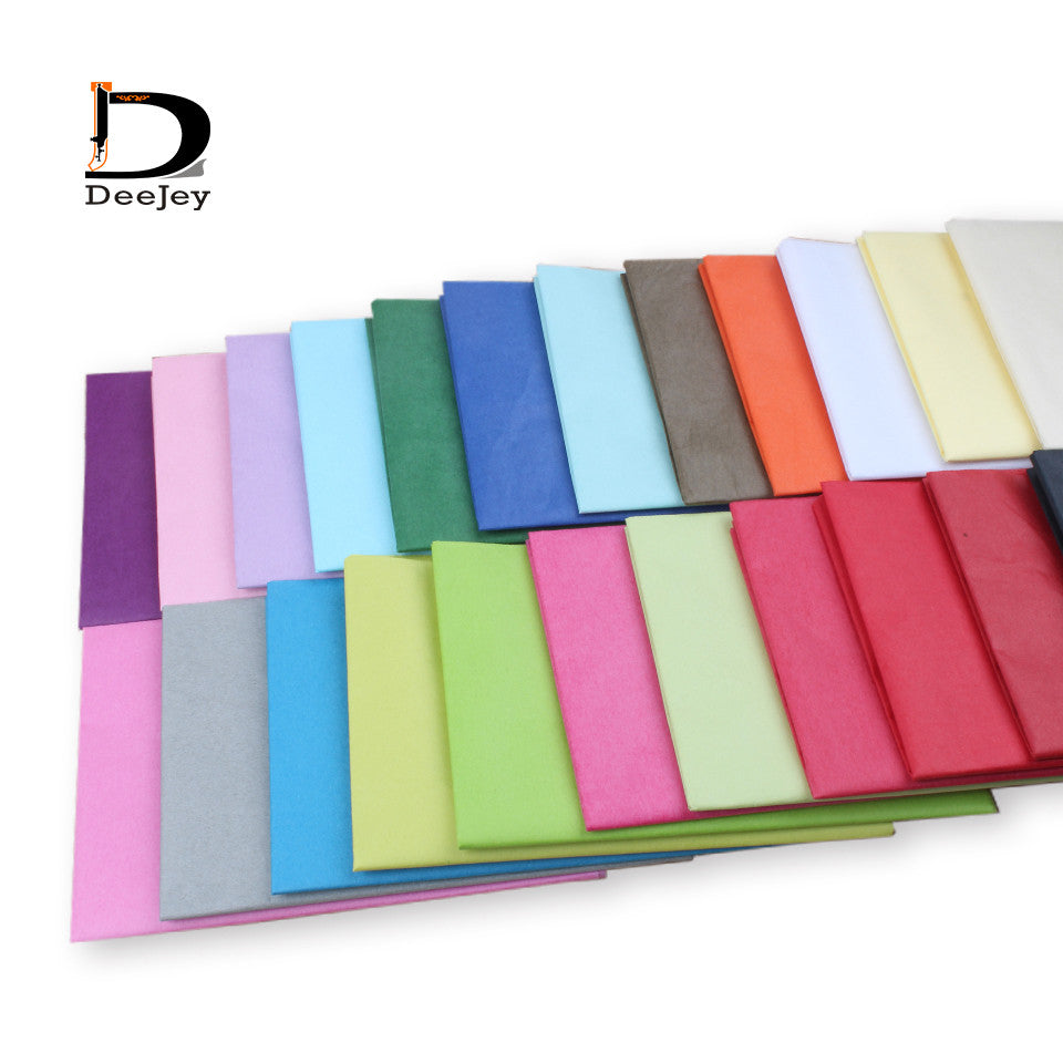 Moisture proof wrapping Tissue Paper 20x26in Wedding Gift clothing wrap Paper Copy Paper DIY candy colors 50*66cm 100pcs lot