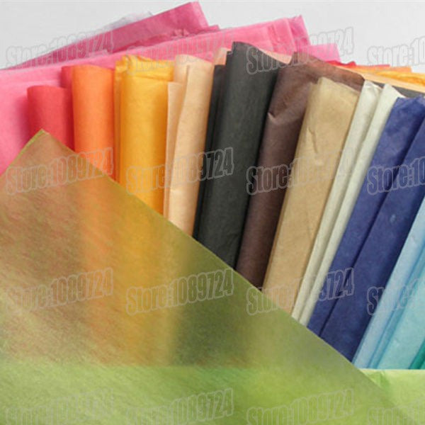50x70cm,50pcs/lot,colorful single copy tissue paper wine,shirt,shoes wrapping paper /gift packing material,Flower poms paper