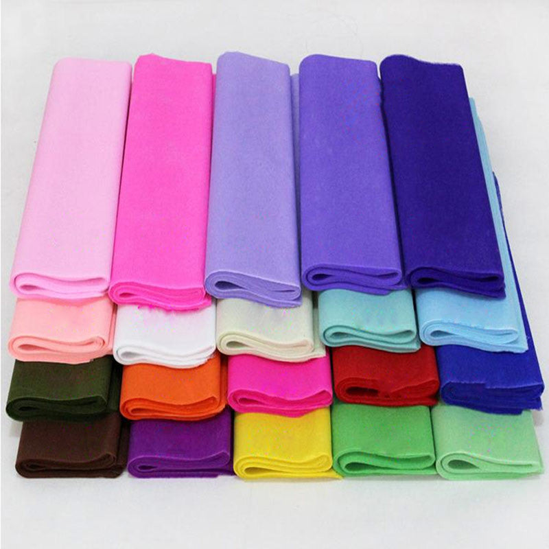 20Pcs/lot Colored Tissue Paper For DIY Wedding/Flower Decor 50*50CM Gift Wrapping Paper 5-010