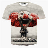 2015 Newest galaxy space printed creative t shirt 3d men's tshirt summer novelty 3D feminina psychedelic tee shirts clothes