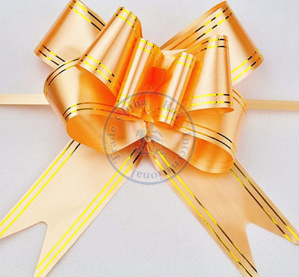 Size XXL 50*780mm Pull Bows Ribbons Flowers Gift Wrapping Christmas Wedding Party Decoration Pullbows wholesale whcn+
