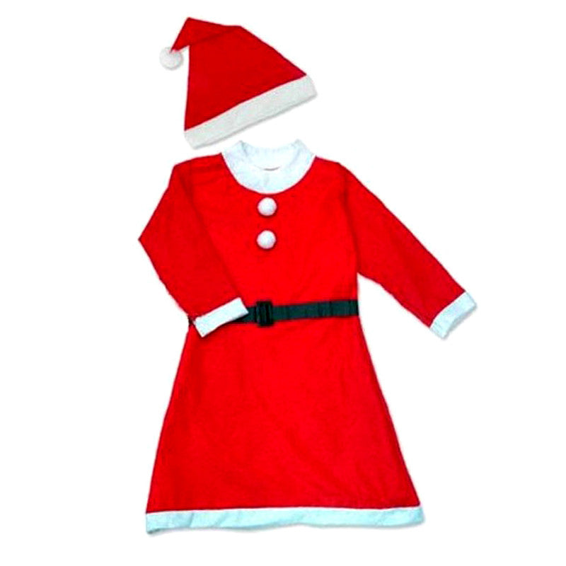 Santa Claus Man and Woman Adult Costume Christmas Clothes Cotton Wool Hunt Gold Suit Cap Pants For Happy New Year
