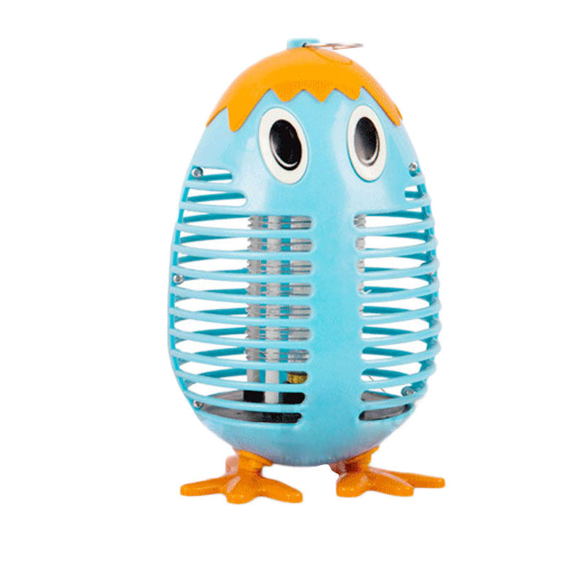 Summer Electric Anti Mosquito Fly Killer Penguin Light With Trap Lamp 250V EU