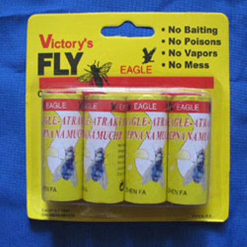 High Quality 4X Fly Sticky Paper Strip Mosquitos Catcher Flying Insect Control Flying Insect Catcher