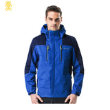 2016 New Hood Beathable Autumn Spring Men Jacket Outwear Men Jacket Size L-4XL