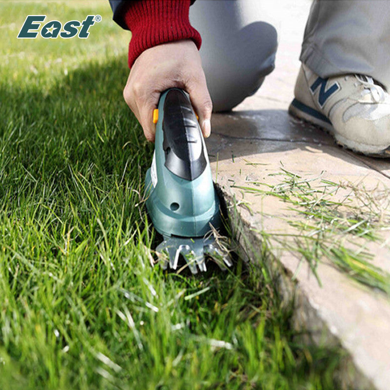 East garden power tools 3.6V 2 IN 1 Combo Lawn Mower Li-Ion Rechargeable Hedge Trimmer Grass Cutter Cordless Factory ET1205C