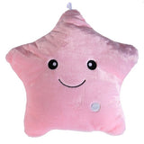 Colorful Body  Pillow Star Glow LED Luminous Light Pillow Cushion Soft Relax Gift Smile 5 Colors Body Pillow Free Shipping V1NF