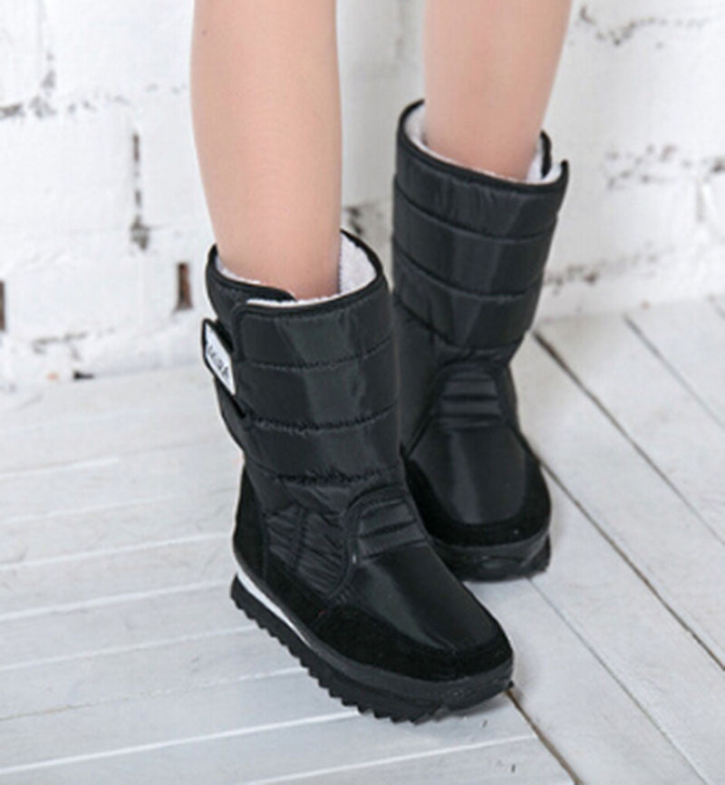 2016 Winter Women's Boots Shoes Women Snow Shoes Colorful Winter Warm Waterproof Boots Cotton In Tube Plus Size  Boot ZYMY-xz-29