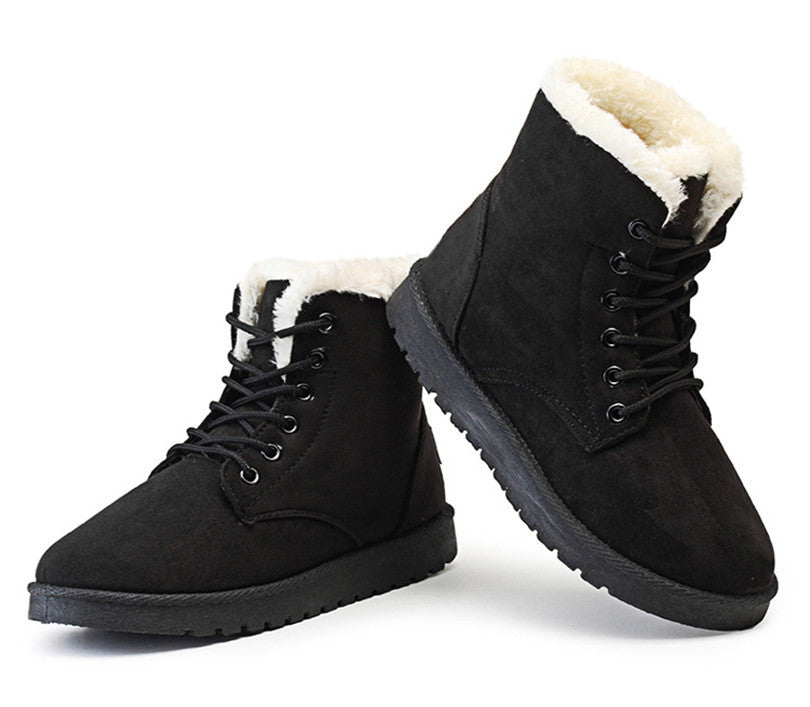 Women Boots Botas Femininas  New Arrival Women Winter Boots Warm Snow Boots Fashion Platform Ankle Boots for Women Shoes