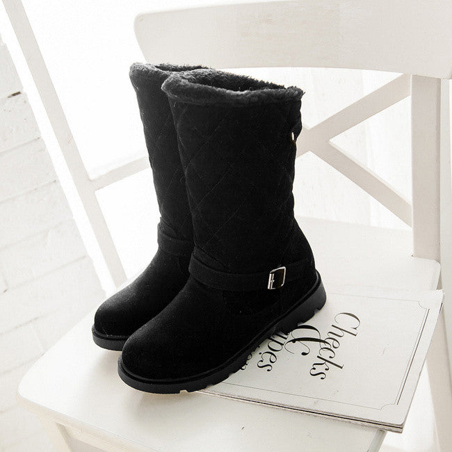 New style warm winter boots women botas femininas flats snow boots for women winter shoes ladies boots female botines mujer 2016