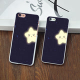 Fashion The bright stars in the sky Hard Back Cover for Apple iPhone 4 4s 5 5c SE 5s 6 6s plus 7 7plus Phone case