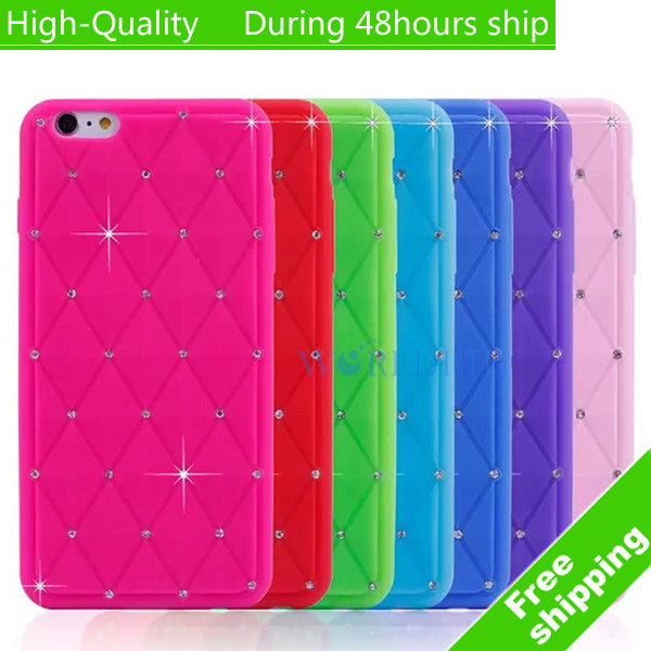 "High Quality Fashion Sky Stars Silicon Skin Cover Case for iPhone 6 Plus 5.5"" Free Shipping"
