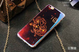 "2016 Fashion Stars Sky Case For iPhone 6 6S 4.7""Case For iPhone 6 6s Plus 5.5"" Constellation Cartoon Phone Cases Back Cover Capa"