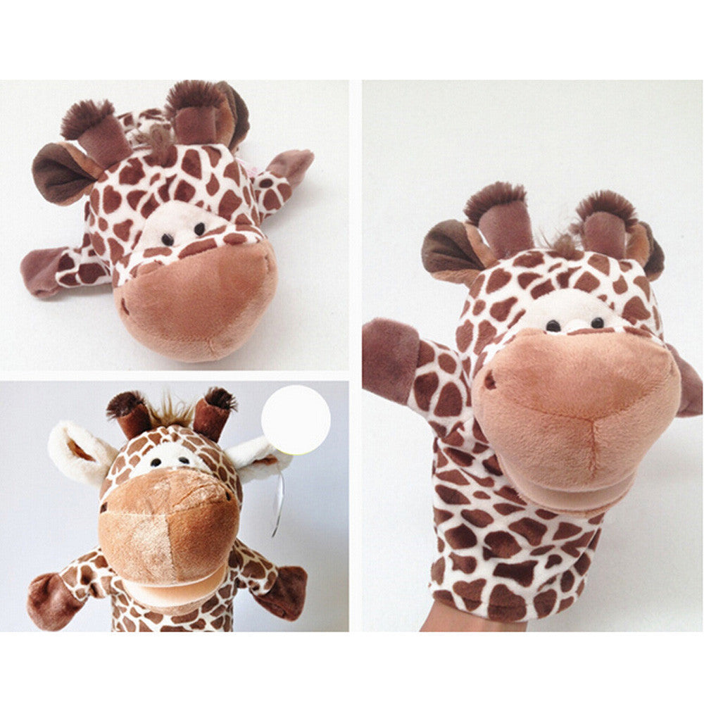 HOT Cute animal finger puppet doll full body hand puppet toys AUG 30