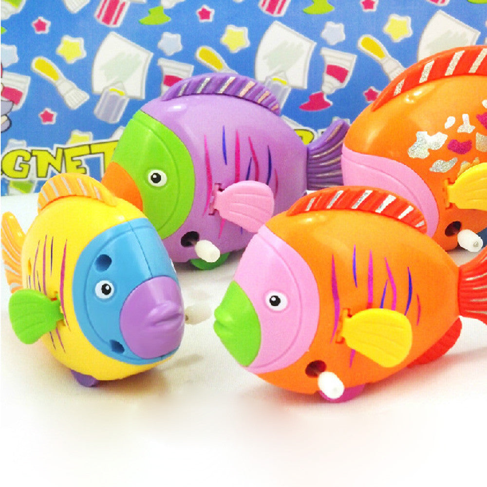 2016 HOT SALE  Chain On The Discus Fish Tail Moving ChildrenTake A bath Toy SEP 13
