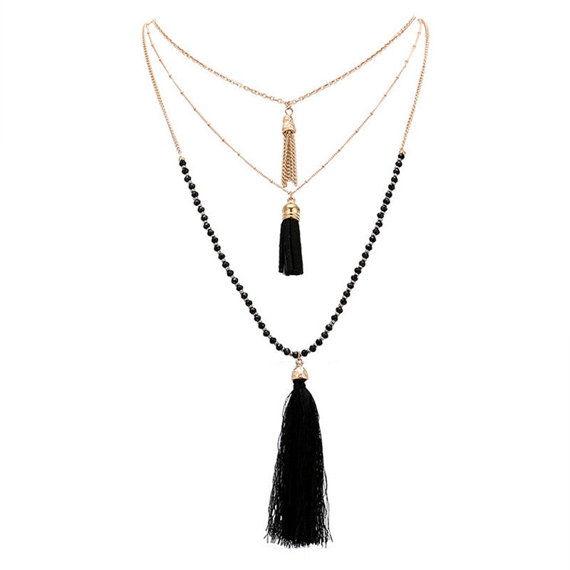 2016 Fashion Measly multilayer necklace collar Necklaces & Pendants long statement Necklaces for women