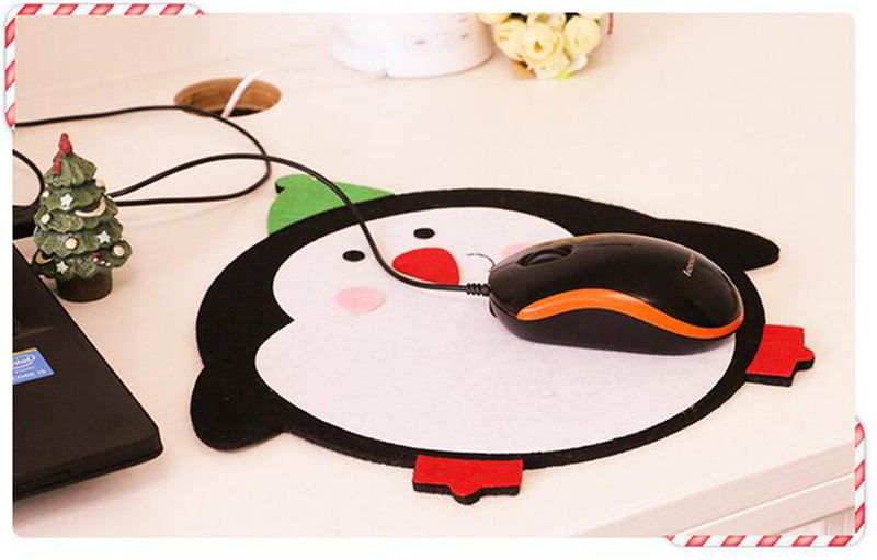 10PCS Mouse Pad Christmas Decorations For Home Christmas Gifts New Years Gifts Christmas Decoration Supplies navidad