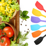 TTLIFE Colorful integrated high temperature resistance silicone Spatula Baking Rubber Scraper