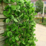 230cm Long 4 styles Artificial Plants Green Ivy Leaves Artificial Grape Vine Fake Foliage Leaves Home Wedding Decoration ES1795