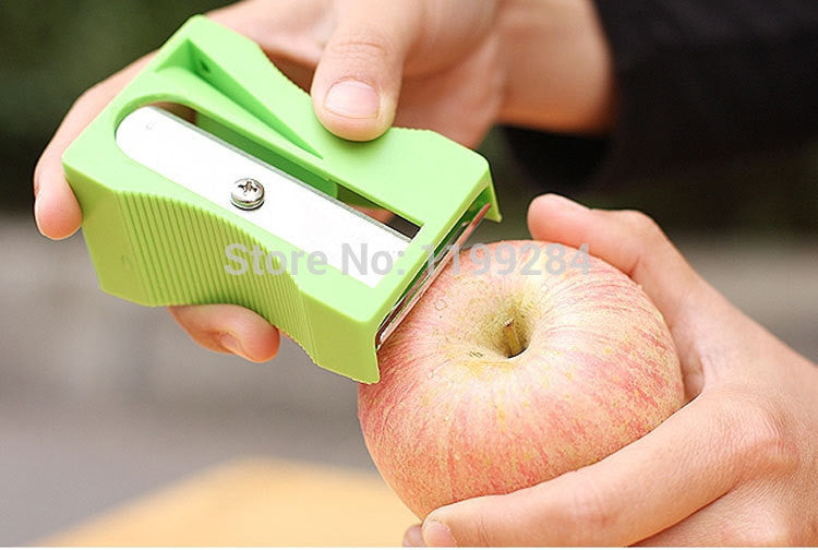 Multifunction Apple Peeler Pencil Sharpener Shape Fruit Peelers & Zesters Planing Knife Fruit & Vegetable Tools