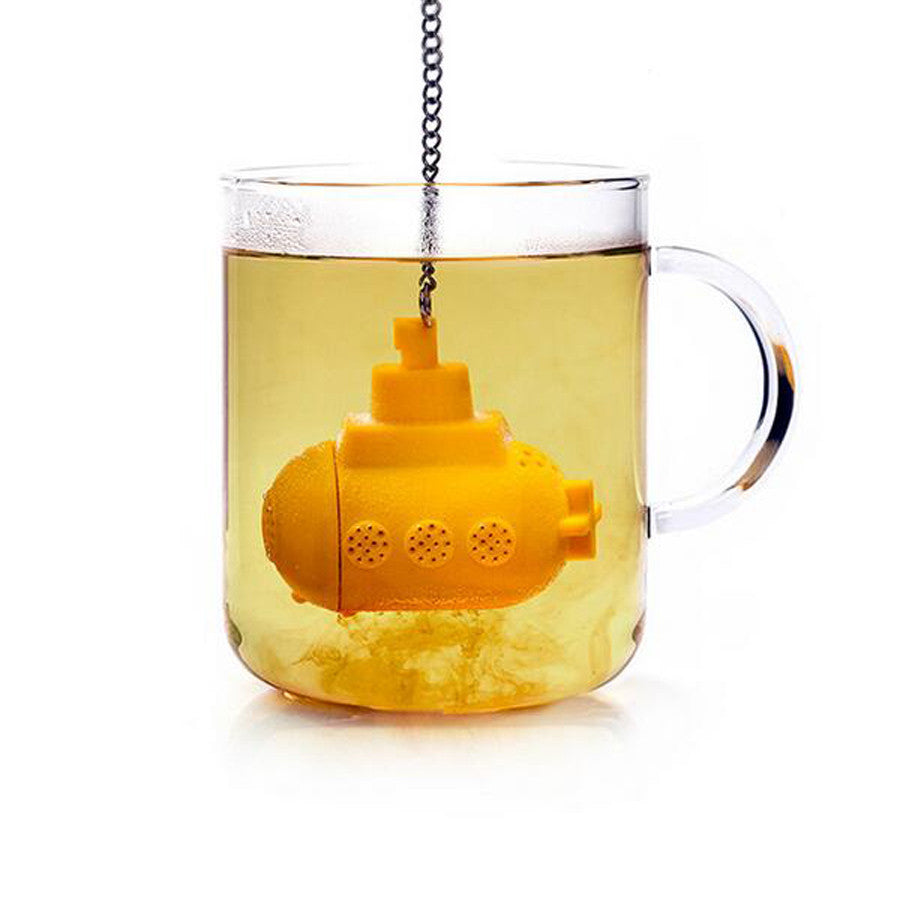 Creative Submarine Model Teapot Cute Tea Infuser Tea Strainer Silicone Tea Herbal Spice Infuser Filter Coffee & Tea Sets Tools
