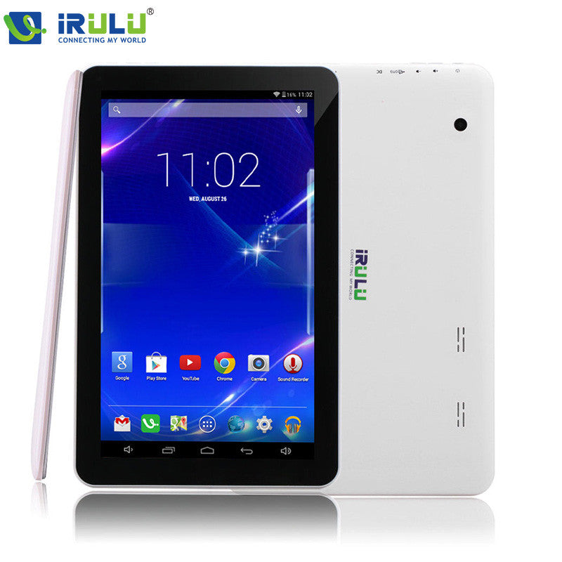 iRULU eXpro X1Plus 10.1'' Tablet Android 5.1 Quad Core 1GB/16GB Tablet PC GMS Dual Camerals 2MP Bluetooth WiFi Hot Fashion