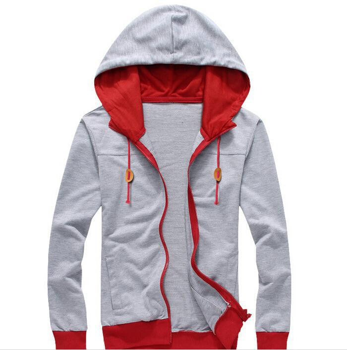 2015 New Arrival Casual Men Hoodies Brand Leisure Suit Fleece Hoodie Jackets Men Sportswear Sweatshirt 4  Colors M-XXL