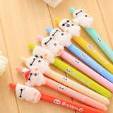 4 pcs/lot Cut Kawaii Korea Stationery Starry Sky Gel Pen Creative Pens School Office Supplies Free Shipping 04091