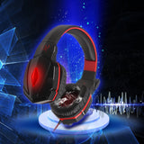 KOTION EACH G4000 Stereo Gaming Headphone Top Quality Headsets Headband Computer Game Breathing LED Light + Mic Noise Reduction