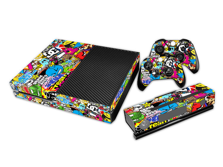 Bomb Decal Skin Sticker Protector For Microsoft For Xbox one Console Controller Decorate Video Game Accessories