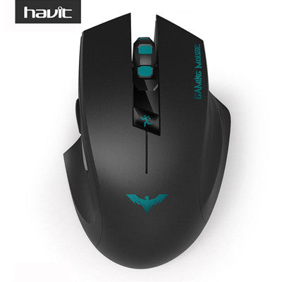 HAVIT 2.4G Wireless Gaming Mouse 1000-1500-2000 DPI 6 Button USB Receiver For PC Laptop Desktop Gamer Mouse Sem Fio HV-MS976GT