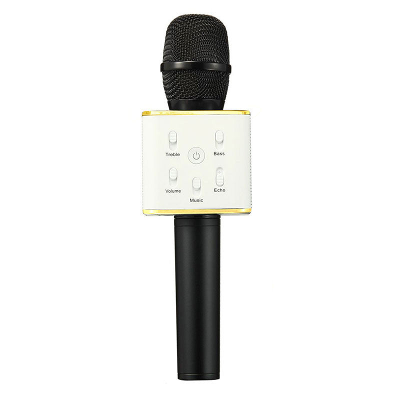 Karaoke Wireless Microphone 3W 2600mah Bluetooth Microphone With Pop Filter Audio Mixer Professional Studio Microphone Hot Sale