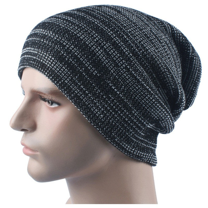 2016 Unisex Autumn Winter Fashion Beanies Hats for Women Men Warm Knitted Wool Cap Bonnet Femme LY2